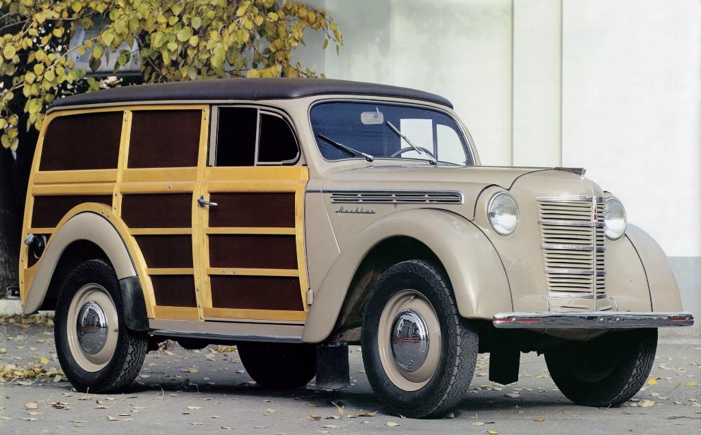«Москвич-400/422» с деревянным кузовом «фургон»