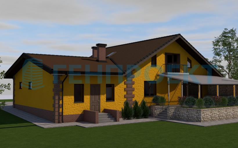 Дома под ключ от архитектурно-проектной студии ГЕНПРОЕКТ