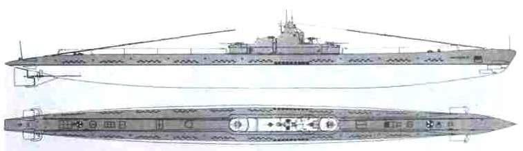 Подводная лодка «К-1» (14-я серия) СССР, 1939 г.