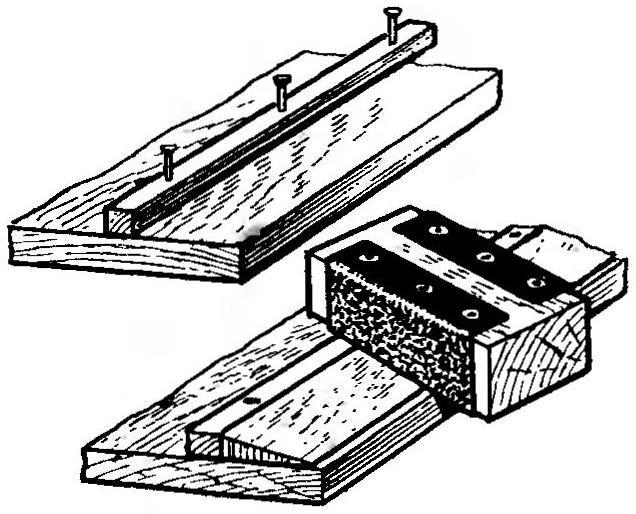 Рис. 11. Технологии обработки задней кромки крыла