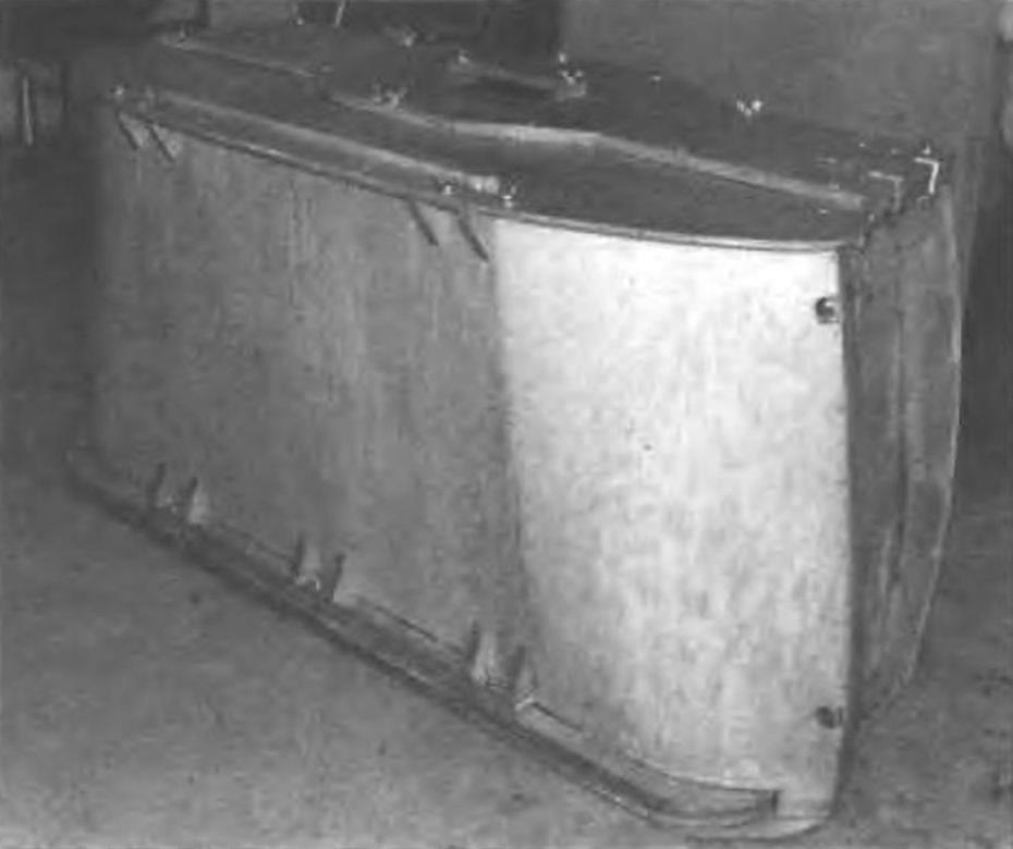Лицевая и верхняя панели «чемодана»