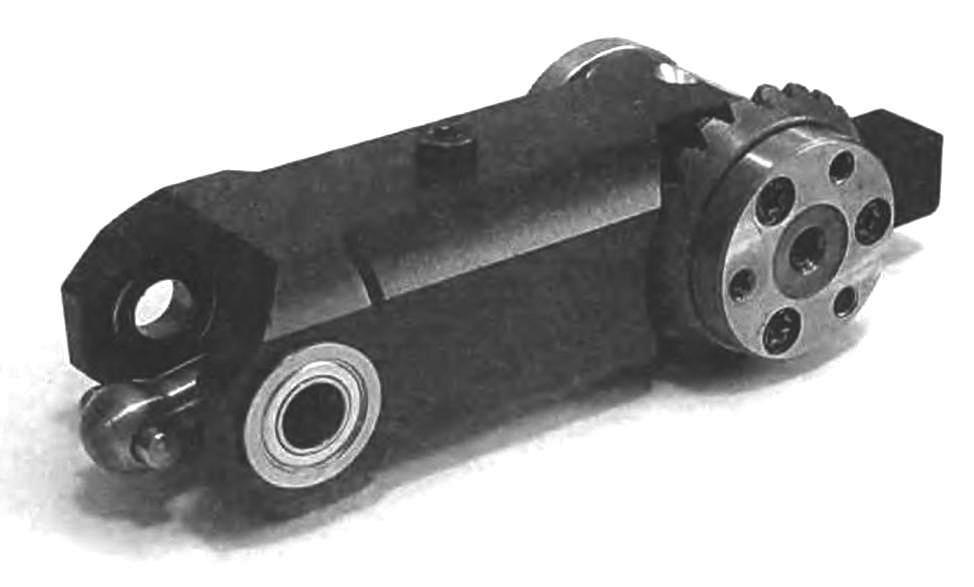 Редуктор на конических шестернях для модели 10 см3