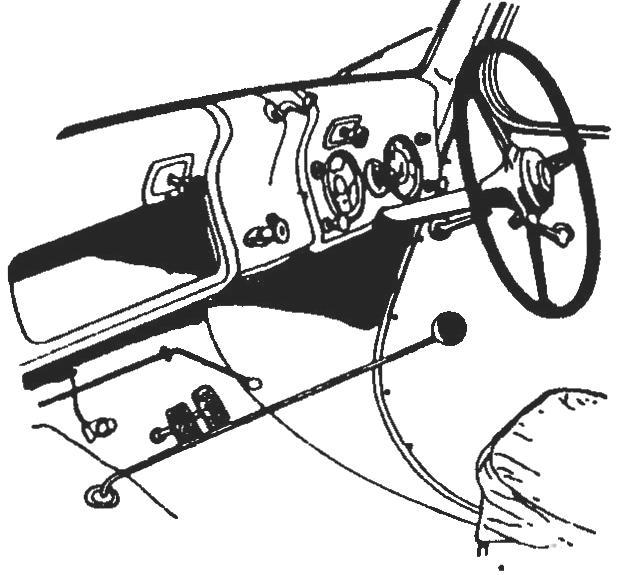 Интерьер кабины
