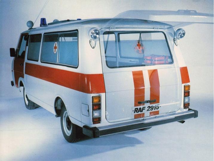 Автомобиль скорой помощи РАФ-2915