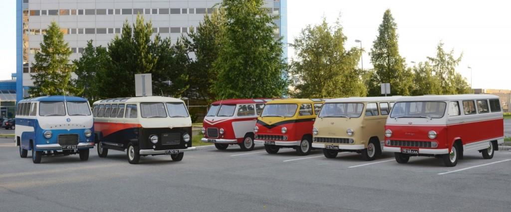 Семейство автомашин от РАФ-10 до РАФ-977