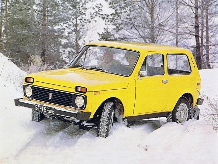 Автомобиль ВАЗ-2121 «Нива»