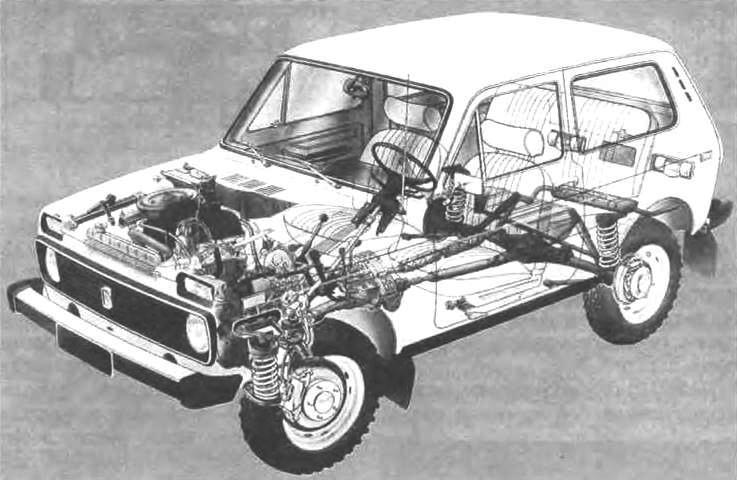 Компоновки ВАЗ-2121