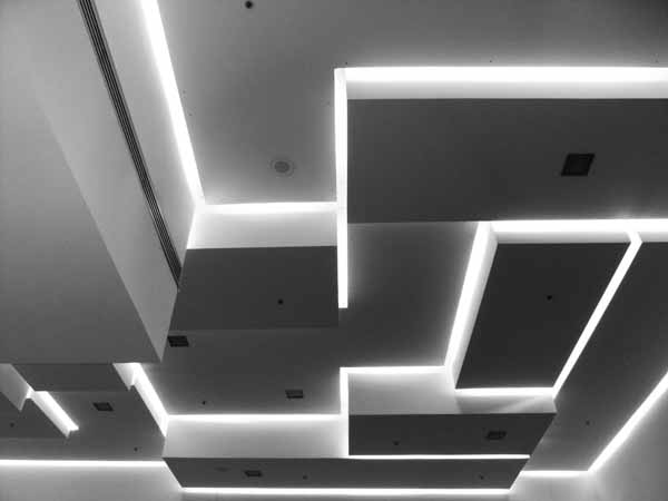 Светодиодное освещение на подвесных потолках