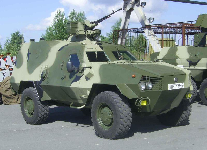 Украинско-польский бронеавтомобиль «Онцилла»