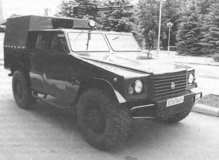 Модель автомобиля «Дозор-А»