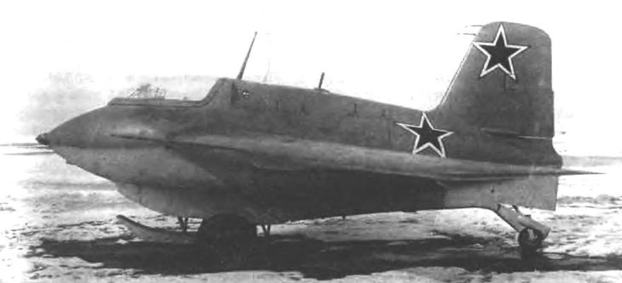 Ме-163В на аэродроме НИИ ВВС