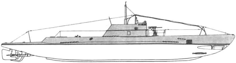 Подводная лодка «М-1» (6-я серия ) СССР, 1934 г.
