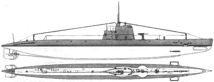 Подводная лодка «М-172» (12-я серия ) СССР, 1937 г.