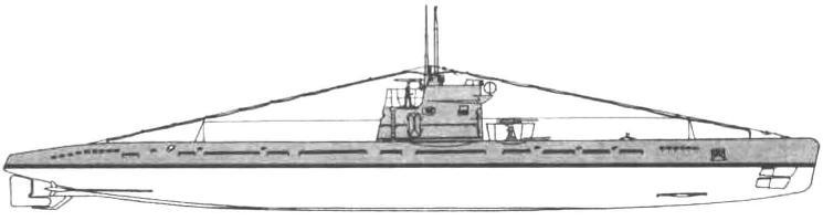 Подводная лодка «М-201» (15-я серия ) СССР, 1943 г.
