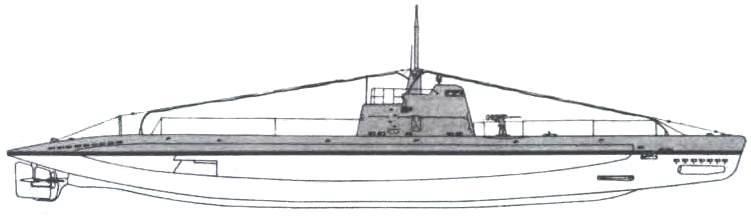 Подводная лодка-заградитель «МЗ-ХII» (12-я серия, проект 604) СССР, 1944 г.