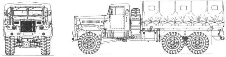 Полноприводной КрАЗ-256
