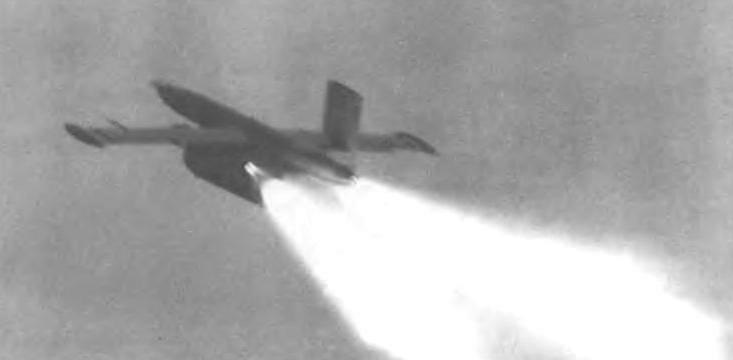 Старт мишени Ла-17М
