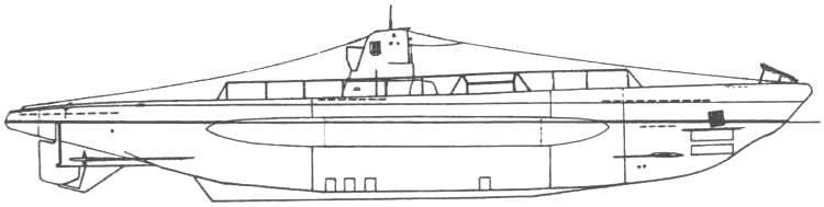 Подводная лодка «U-1» (Тип ІІА), Германия, 1936 г.