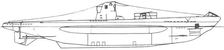 Подводная лодка «U-18» (Тип IIВ). Германия, 1936 г.