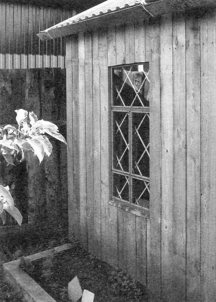 Окно в боковой стене