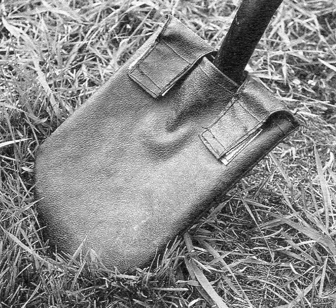 Лопата фирмы «Фискарс» в чехле