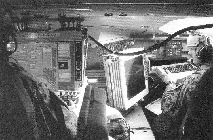 Машина снабжена боевой информационно-управляющей системой БИУС, предназначенной для автоматизации выработки решений по управлению оружием и маневрированию с выводом на дисплей