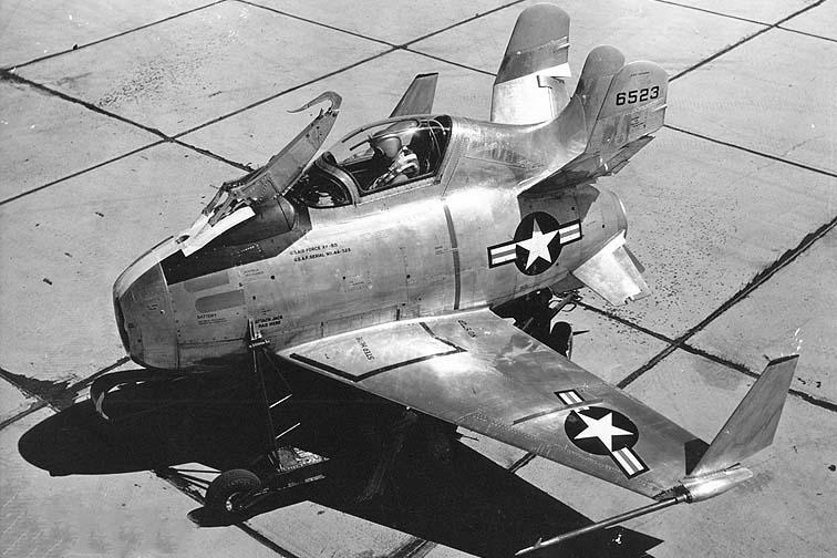 XF-85 в первоначальной конфигурации (декабрь 1946 г.)