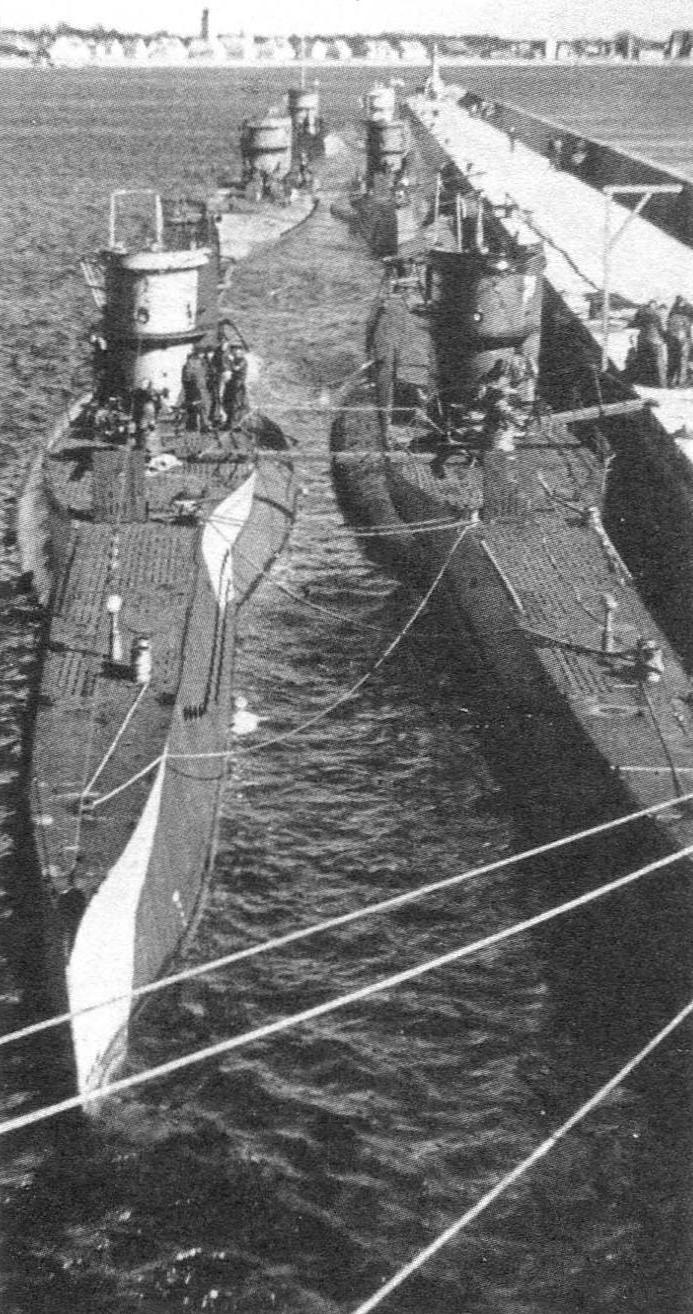 Подводная лодка Тип VIIC, Германия, 1940 г.