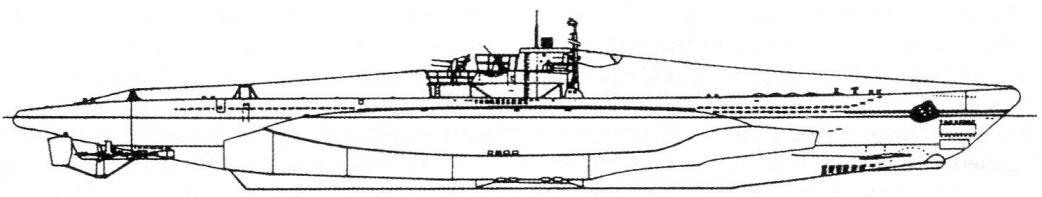 Подводная лодка Тип VIIC/42, Германия, 1944 г.
