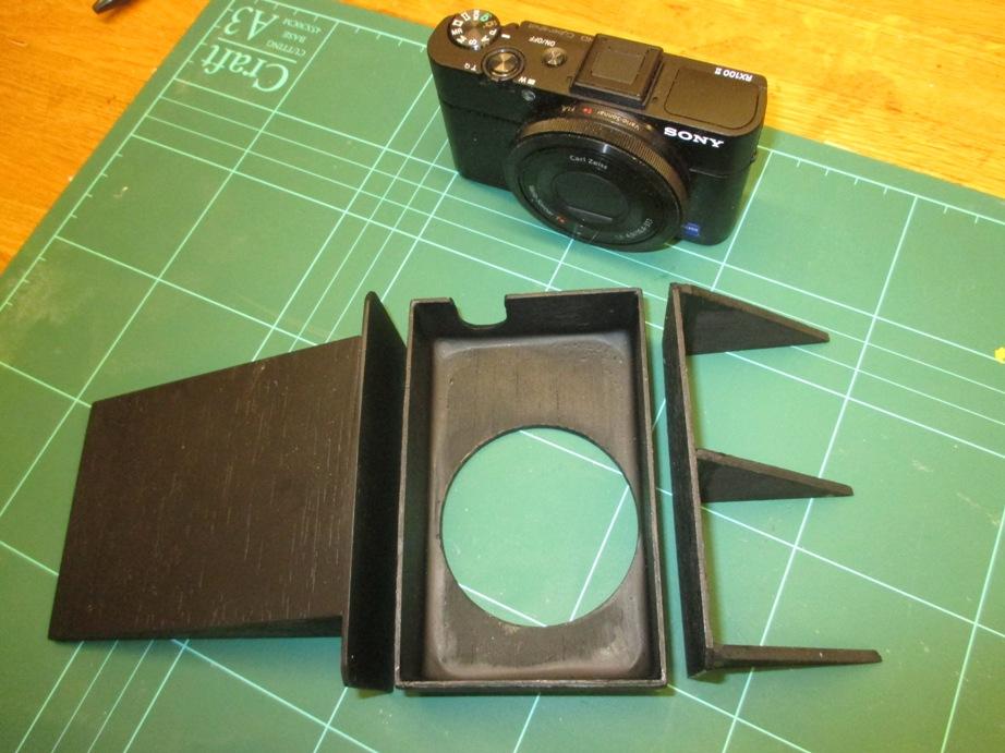 Шаг 3: Установка камеры и аккумулятора
