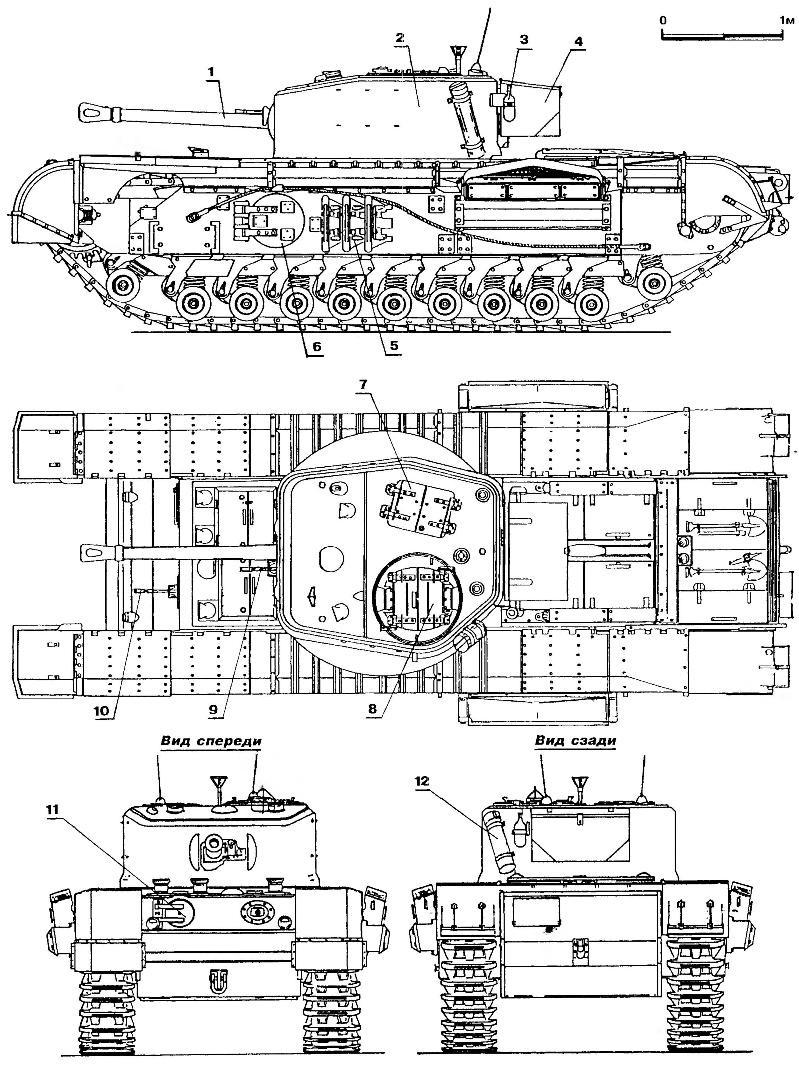 Пехотный танк «Черчилль VII»