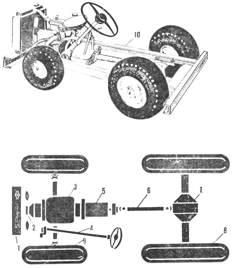 Рис 1. Трактор «Васюринец-10»