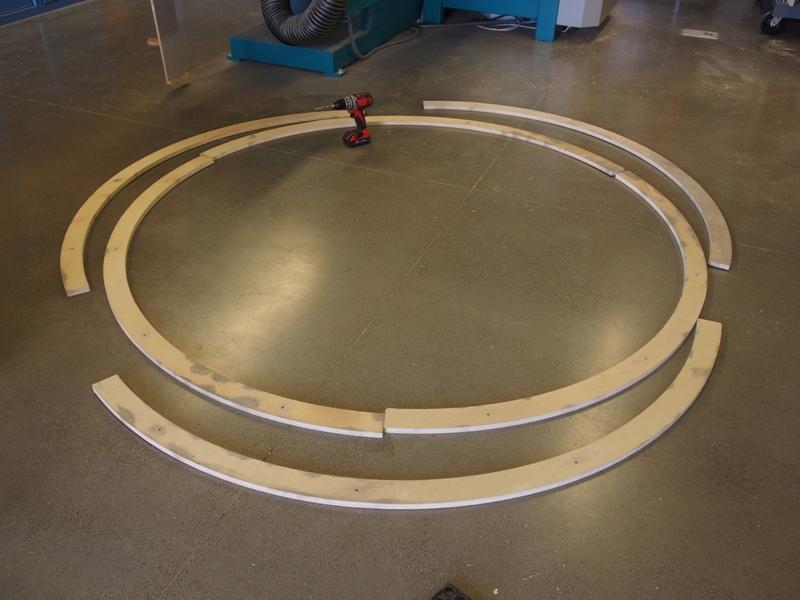 Шаг 4: Раскладка колец