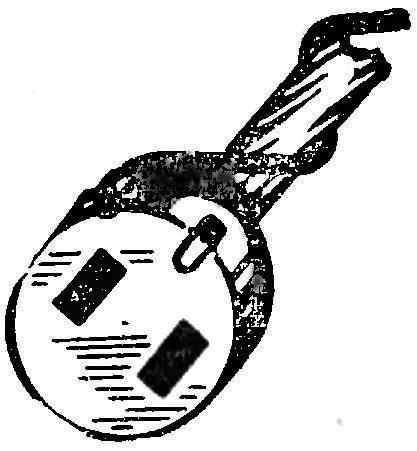 Рис. 4. Внешний вид миноискателя.