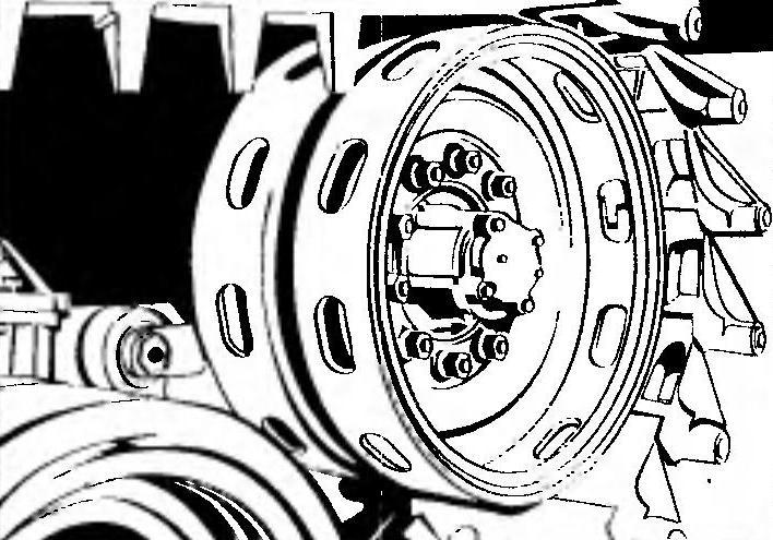 Направляющее колесо.