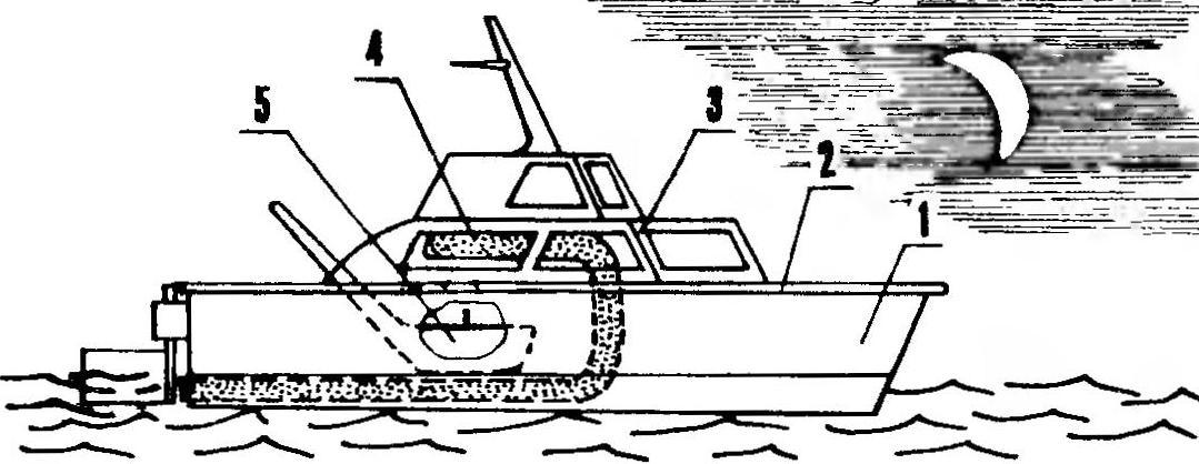 Игрушечный пароход