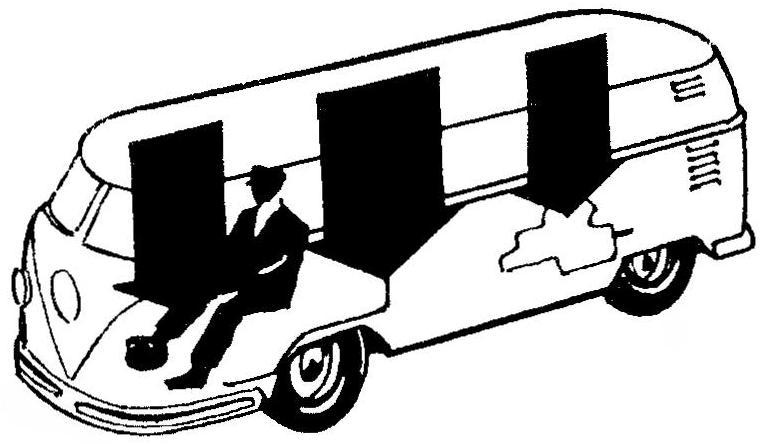 Развесовка по осям автомобиля VOLKSWAGEN TRANSPORTER.