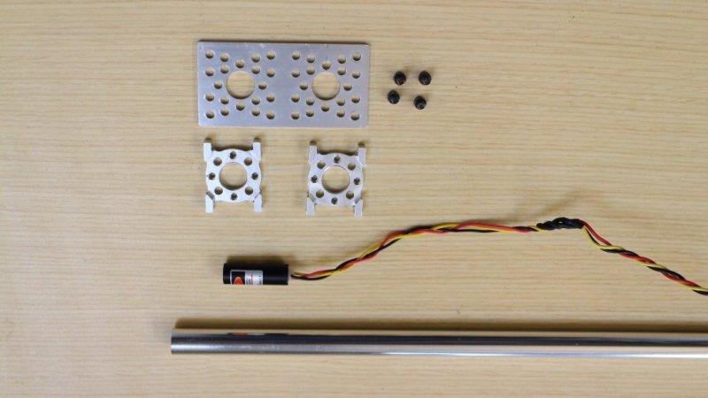 Шаг 9: Установка лазера