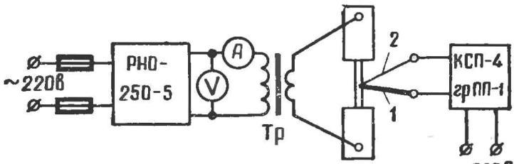 Рис. 3. Электросхема прибора