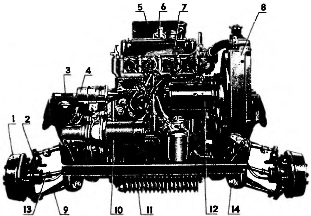 Силовой агрегат MINI