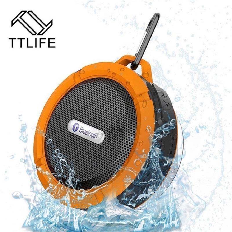 Портативный, беспроводной, водонипроницаемый Bluetooth динамик