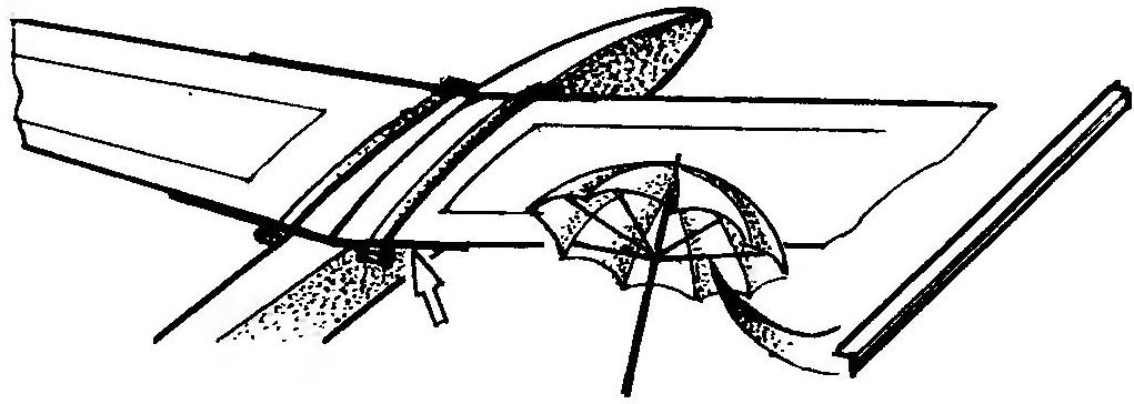 Cпицы от сломанного зонта