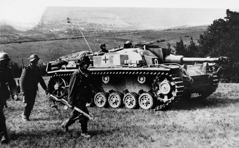 Немецкая самоходная артиллерийская установка StugIII
