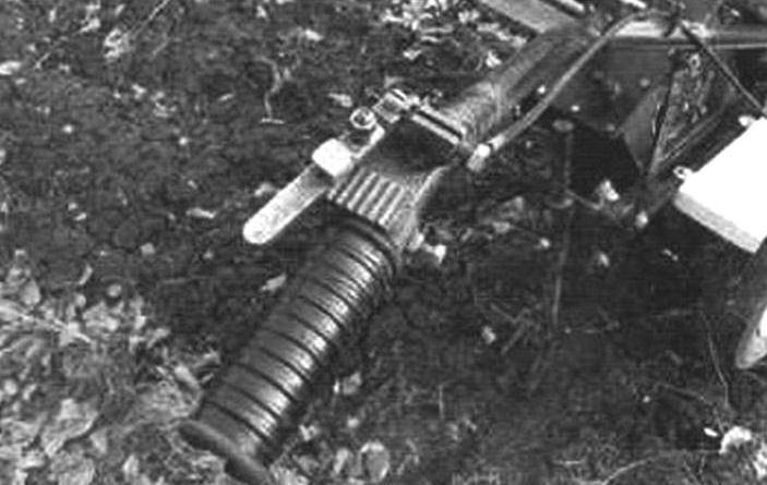 «Сектор газа» на рукоятке правой рулевой штанги