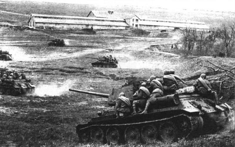 Пехота на броне танков