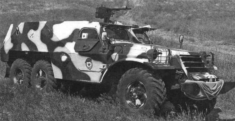 Бронетранспортер БТР-152В