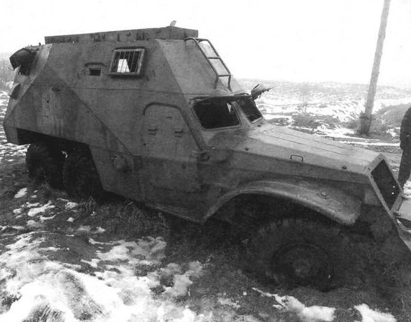 БТР-152И в экспозиции музея «Линия Сталина. Беларусь