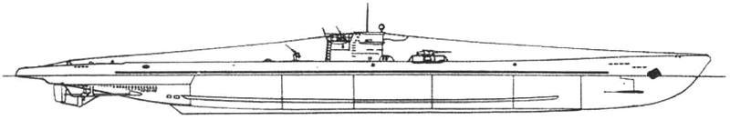 Подводная лодка Тип «ІХП-2» (Германия, 1942 г.)