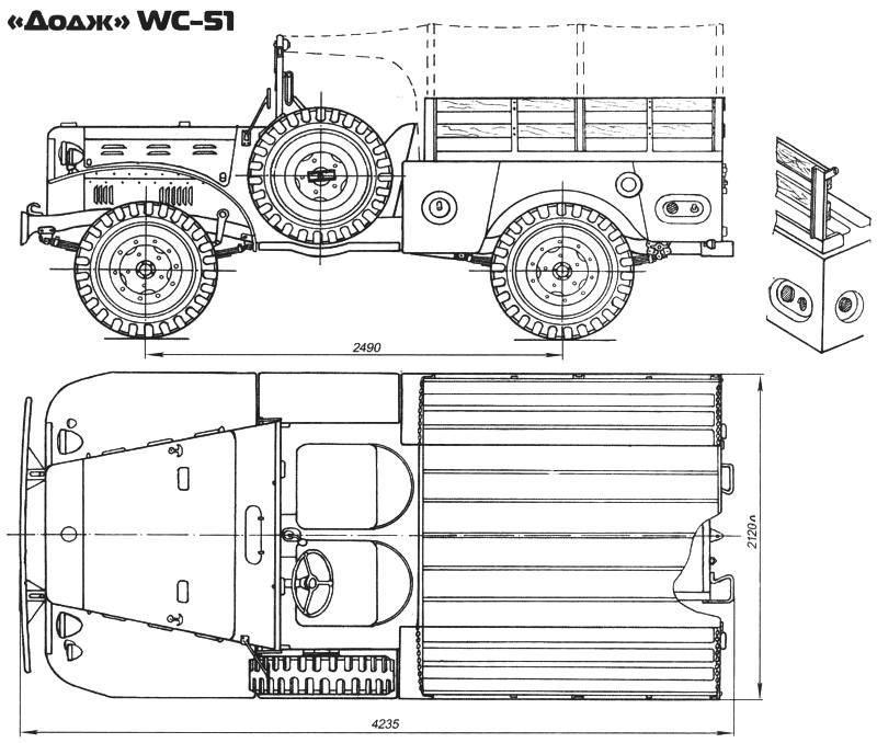 «Додж» WC-51