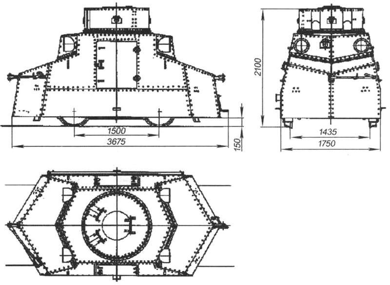 Бронедрезина «Татра» Т18